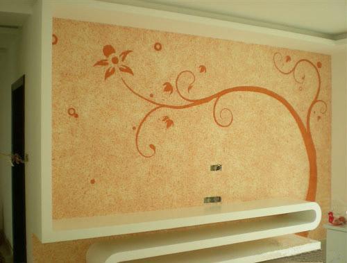 医院墙面效果图,环保内墙涂料
